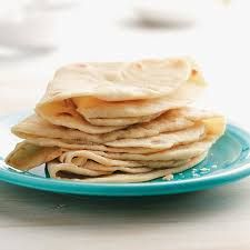4 Flour Tortillas