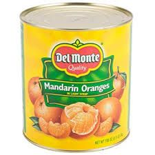 Canned Mandarin Orange Syrup