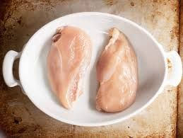 Frozen Split Chicken Breast