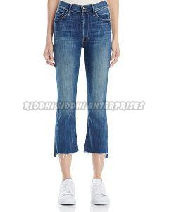 Ladies Crop Jeans