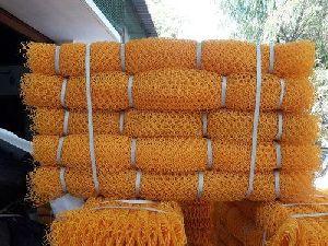 Sericulture Yellow Plastic Net