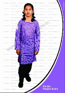 Girls School Punjabi Suits