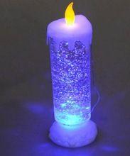 Glitter Led Candle