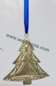 Christmas Brass Plated Hanging Items