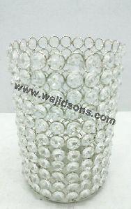 Decoration Votive Crystal Candle Holder