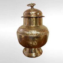 Decorative Brass Jars And Urns