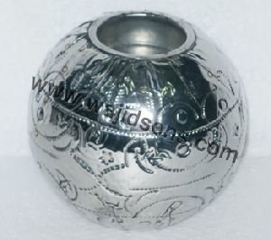 Silver Decorative Rounded Ball