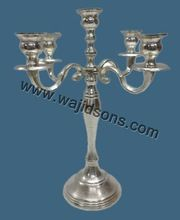 Wedding Candelabra Aluminium