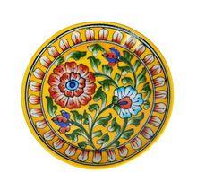 Ceramic Plates Handmade Serving Wall Hanging