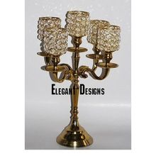 Cheap Candelabra With Crystal Beads Chimney