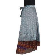 Girl Slim Mini Wrap Skirt