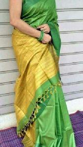 Staple Ghicha Tussar Silk Saree
