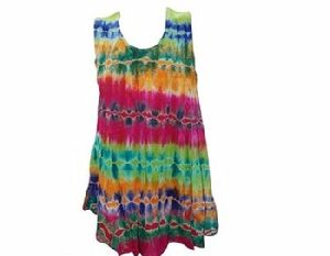 Rayon Poncho Dress