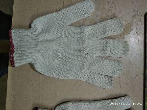 Plane Cotton Industrial Gloves