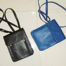 Leather Passport Bag