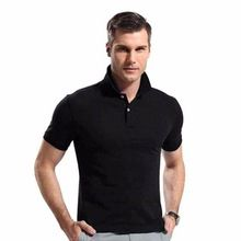Men Plain Collar T Shirts