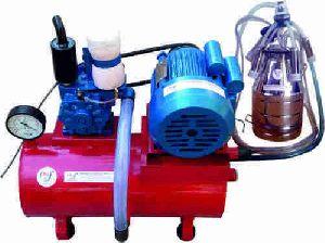 Single Bucket Milking Machine (automatic Fixed Pipeline) - Modern Dairy Machines
