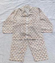 Cotton Hand Block Printed Kids Pajama