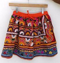 Hand Embroidered Banjara Short Skirts