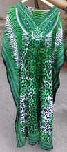 Multi Colored Beachwear Free Size Printed Kaftans