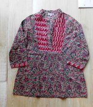 Printed Cotton Tunics Blouses