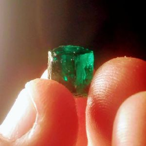 Cut Emerald Gemstones