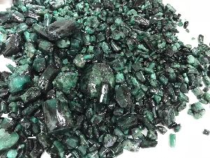 Rough Emerald Stones