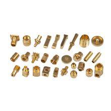High Precision Cnc Precision Brass Knurling Parts