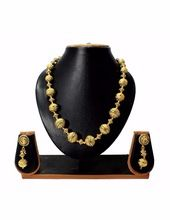 Antique Golden Mala Necklace Set