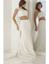 Asos Turquoise Lace Bridal Dress