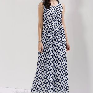 Girls Button Down Maxi Dress