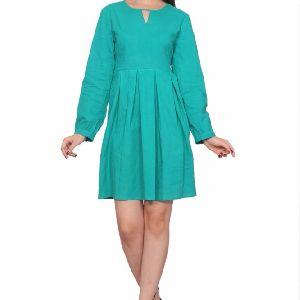 Girls Long Sleeves Cotton Dress