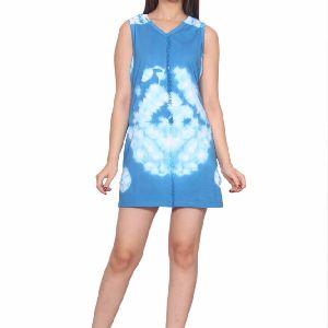 Girls Sleeveless Short Dress