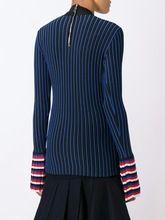 Ribbed Contrast Sleeve Sweatshirt