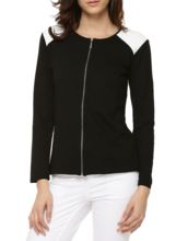 Womens Quilted Shoulders Jacket