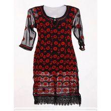 Ladies Cotton Printed Kurtis Tops