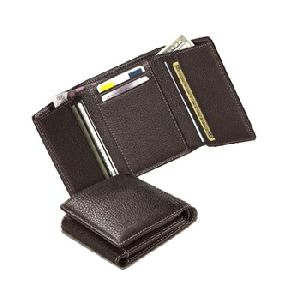 Mens Genuine Leather Credit Card Wallet
