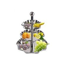 Stainless Steel 3 Tier Fruit Tray