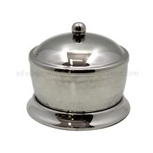 Brass Powder Pot With Lid