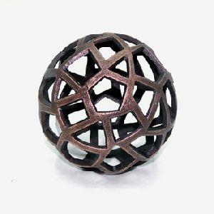 Bronze Aluminium Table Decorative Ball