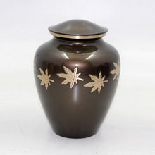 Brown Brass Cremation Urns
