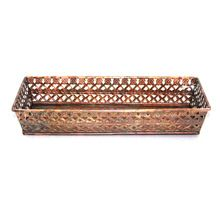 Copper Antique Rectangular Serving Tray