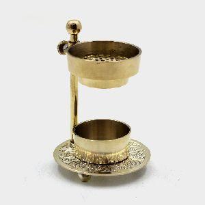 Table Top Metal Brass Incense Burner