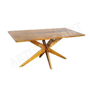 Modern Wooden Rectangle Dining Table