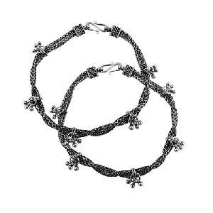 Designer 925 Sterling Silver Anklets