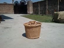 Oval Willow Shopping Basket