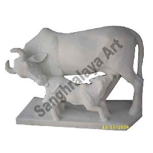 Mother Cow Statue