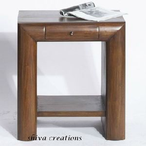 Sheesham Wooden Bedside Table