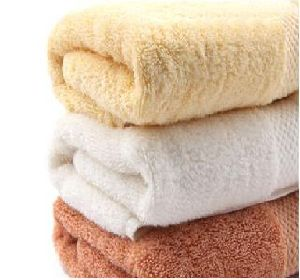 Solid Dyed Plain Bamboo Cotton Towel