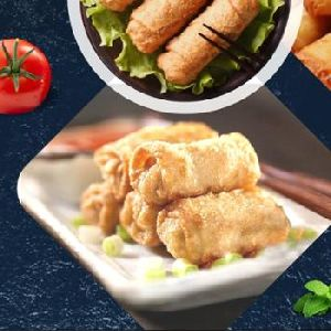 Frozen Vegetable Spring Roll